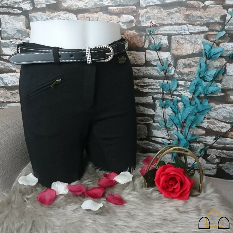 HKM bemmtex breeches in black