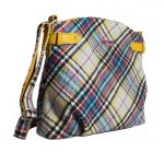 Ness wool tartan handbag in Shandwick Check