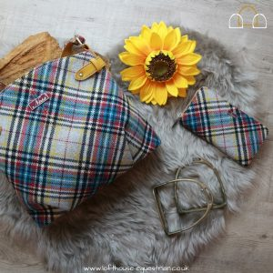 The Shandwick Check Handbag by Ness Wilma