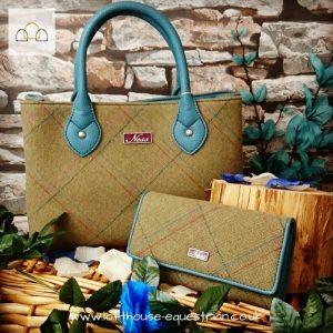 The Ebony handbag from Ness in Applecorss Herringbone